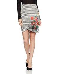Desigual - Xenia Knitted Short Skirt - Lyst