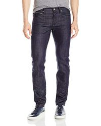 Naked & Famous Super Guy Indigo Selvedge Jeans - Blue