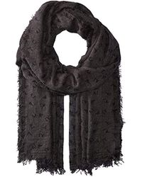 Armani Jeans - Print Woven Scarf - Lyst