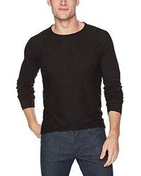 Billy Reid - Raglan Long Sleeve Indian Crew Neck T-shirt - Lyst