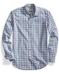 Goodthreads - Standard-fit Long-sleeve Large-scale Gingham Shirt - Lyst