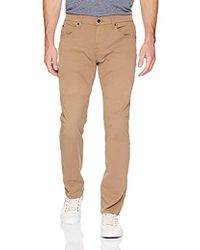 7 For All Mankind - The Straight Leg Chino With Clean Back Pocket - Lyst