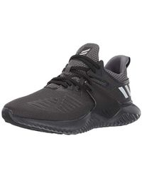 599e79b09 Lyst - adidas Alphabounce Beyond Knit Running Shoe in Black for Men