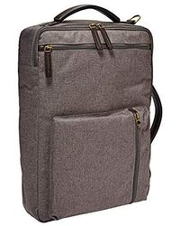 Fossil - Buckner Backpack Titanium, One Size - Lyst