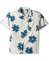 Quiksilver - South Beach Dimes Woven Top - Lyst