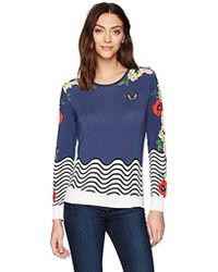 Desigual - All By Myselft Sweater - Lyst