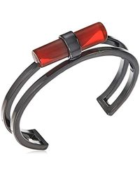 French Connection - Tube Cuff Bracelet - Lyst