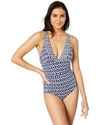 93e3bccfb1 Maaji Hipic Flirty Tank Reversible One Piece Swimsuit - Lyst