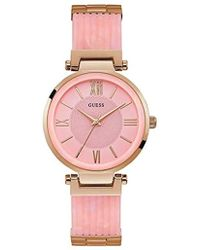 Guess - U0638l9 (rose Gold/pink) Watches - Lyst