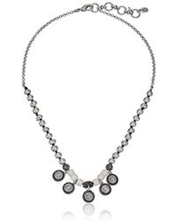 Lucky Brand - Bone Collar Necklace - Lyst