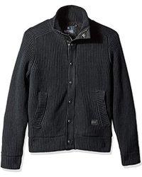 Buffalo David Bitton - Wavest Button Up Fashion Sweater - Lyst