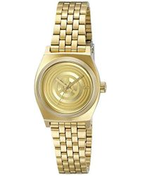 Nixon - Small Time Teller Stainless Steel Watch - Lyst