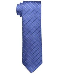 Calvin Klein - Etched Windowpane B Tie - Lyst