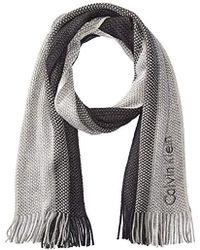 Calvin Klein - Ombre Stripe Scarf - Lyst