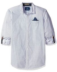 Scotch & Soda - Classic Shirt Fixed Pochet Sleeve Collectors - Lyst