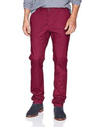 French Connection - Machine Gun Stretch Chino Pant - Lyst