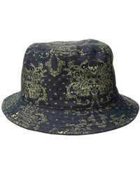 Lyst - True Religion Graffiti Print Bucket Hat in Blue for Men 9ed79c978325