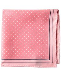 Buttoned Down - Classic Silk Hand Rolled Pocket Square (22 Designs) - Lyst
