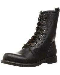 Frye - Jenna Combat Boot - Lyst