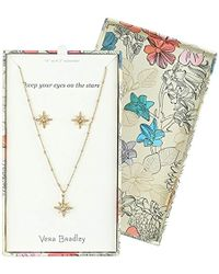 Vera Bradley - S Sparkling Star Earring Jewelry Set, Gold Tone - Lyst