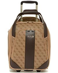 Guess - Nissana Wheeled Underseater Brown With Gold Hardware - Lyst