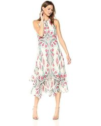 Lepore Nanette Lyst Pink Dress Island Style In thdsrCQ