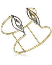 Noir Jewelry - Aglow Bangle Cuff Bracelet - Lyst