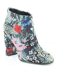 3966db98751e3 Lyst - Sam Edelman Cambell Women Round Toe Canvas Tan Ankle Boot
