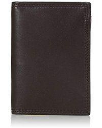 Buxton - Emblem-leather Executive Twofold Wallet - Lyst