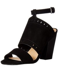 9ae8b46bc4b Lyst - Joe S Jeans  virgil  Cutout Ankle Strap Sandal in Black