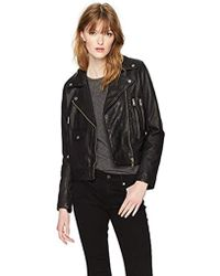 William Rast - Leather Biker's Jacket - Lyst
