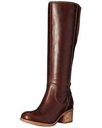 Clarks Maypearl Viola Riding Boot - Brown