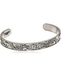 ALEX AND ANI - Anchor Cuff Bracelet, Rafaelian Silver, Expandable - Lyst