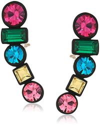 """Trina Turk - """"confetti And Cocktails"""" Multi Stone Earrings - Lyst"""