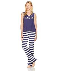Mae - Sleepwear Swing Tank Pajama Set - Lyst