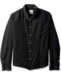 Billy Reid - Standard Fit Cotton Cashmere Button Down Liam Shirt - Lyst