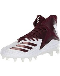 new product 9e4a8 3a0a1 adidas - Freak X Carbon Mid Football Shoe White Maroon, 10 M Us - Lyst