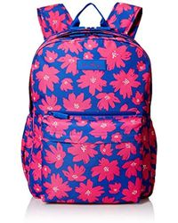 40002a1ac3fd Lyst - Vera Bradley Lighten Up Grande Laptop Backpack in Red