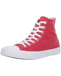 Converse - Unisex Chuck Taylor All Star Washed High Top Sneaker - Lyst 56f463fb0
