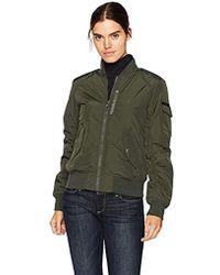 Marc New York - Nicole Fine Twill Nylon Reversible Jacket - Lyst