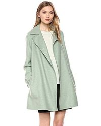 Theory - Double Faced Overlay Coat - Lyst