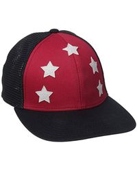 e62faec0b0e9 Lyst - Converse All Star Patch Snapback Adjustable Hat (blue) in ...