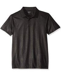 Guess - Short Sleeve Mason Stud Polo Shirt - Lyst