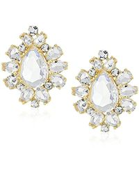 Kate Spade - Gold-plated Statement Studs - Lyst