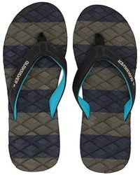 f56f910f1dbe Lyst - Quiksilver Massage Sandal in Black for Men