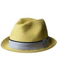 409ae99d11d Lyst - Original Penguin Round Top Straw Porkpie Hat in Natural for Men