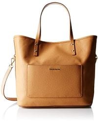 a16037e635 Cole Haan Crosby Tote in Black - Lyst