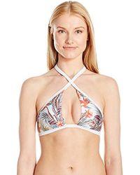 faa3594459750 MINKPINK - Avalon Reversible Bikini Top - Lyst