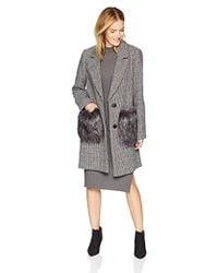 ce29658fe399 Wool Coats - Women's Designer Wool & Wool-Blend Coats - Lyst