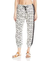 f7efce3f20 Dolce Vita - Rough And Tumble Abstract Geometric Beach Pant Cover Up - Lyst